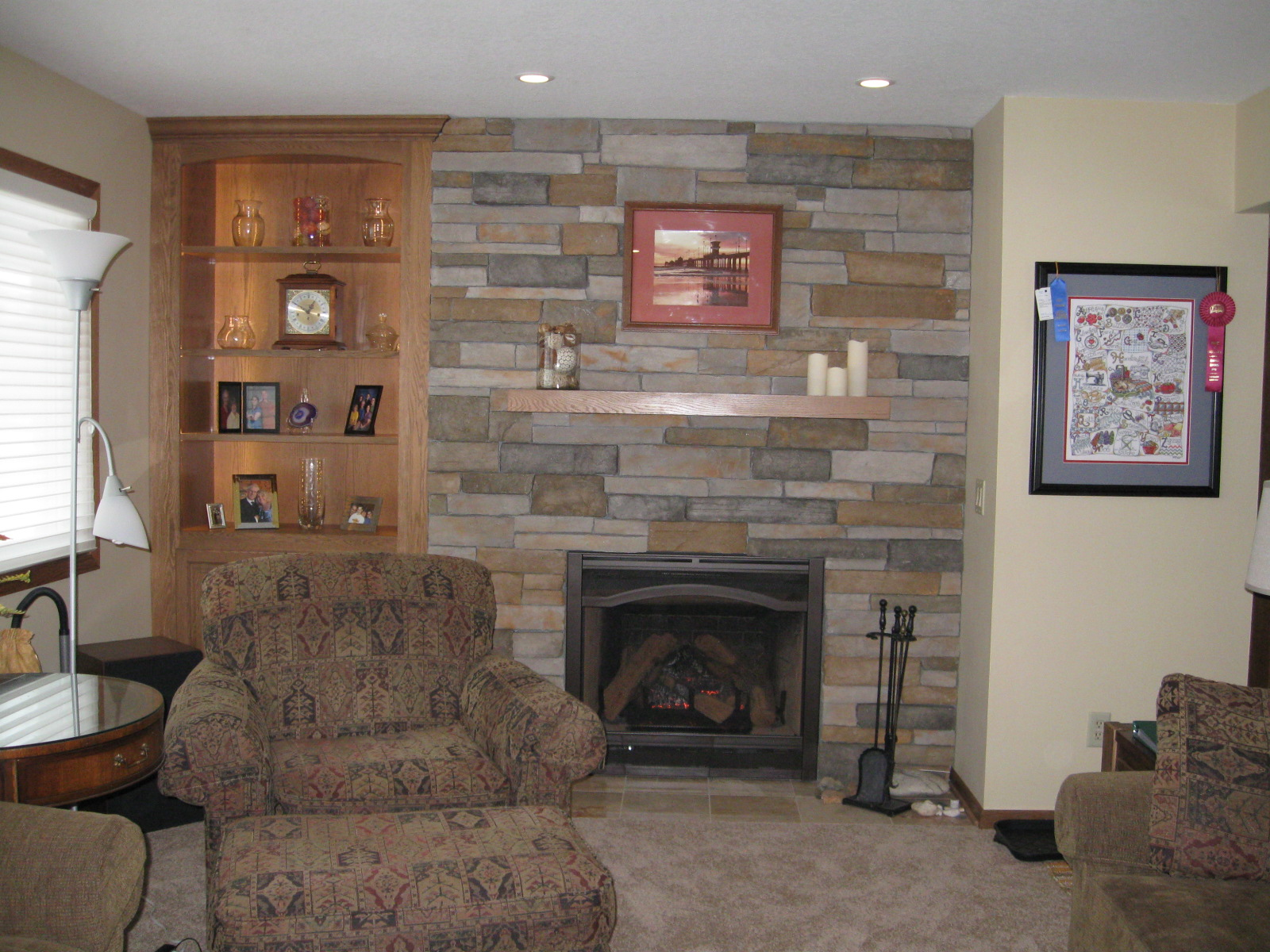 Inver Grove Heights gas fireplace