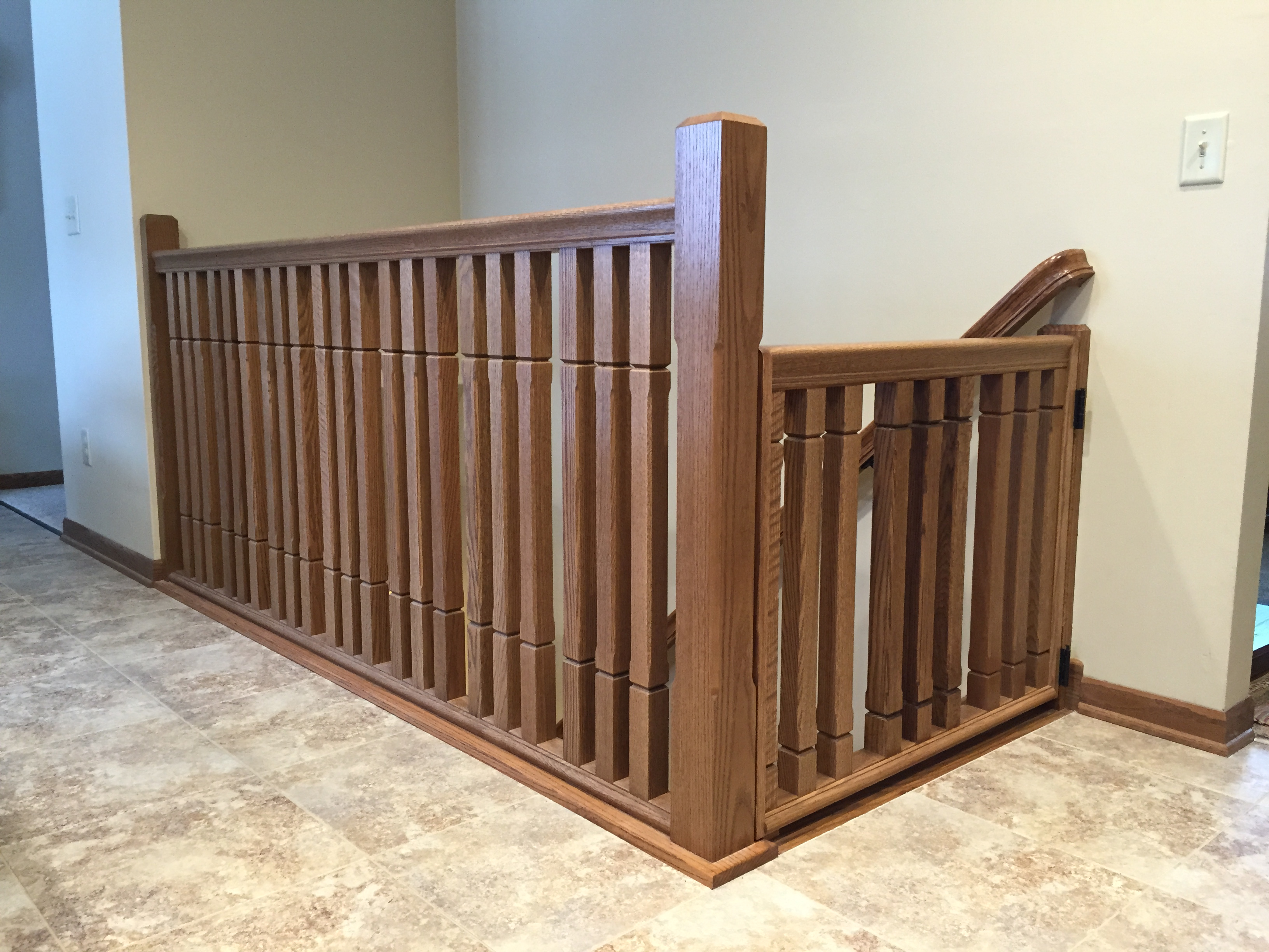 Custom railing & carpentry in the Twin Cities