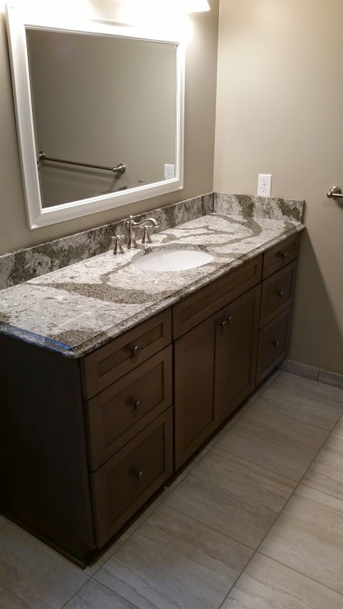 Twin Cities Bathroom cabinets and countertops