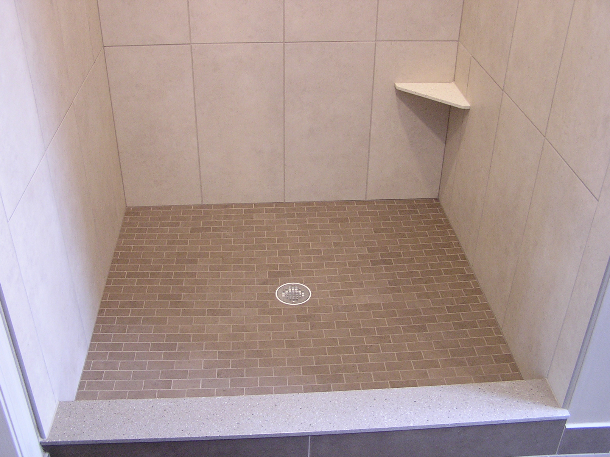 Custom showers in the Twin Cities