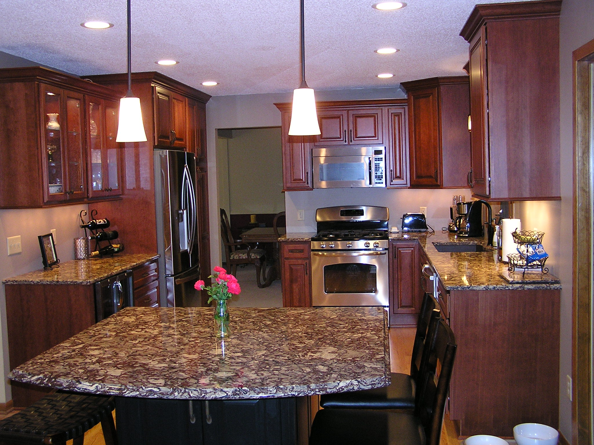 Custom kitchen in Apple Valley