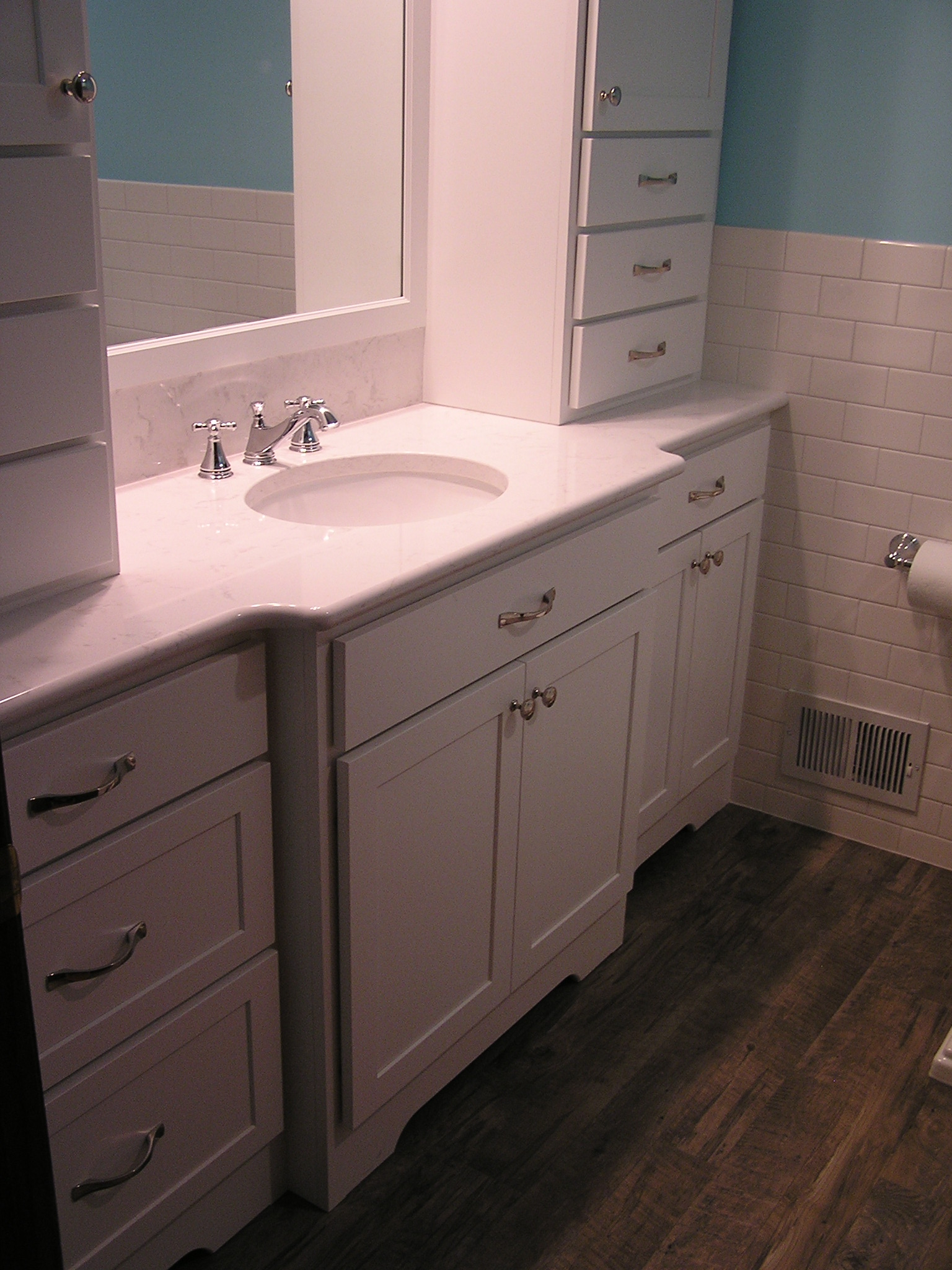 Full home remodeling in apple valley mn allrounder for Whole bathroom remodel