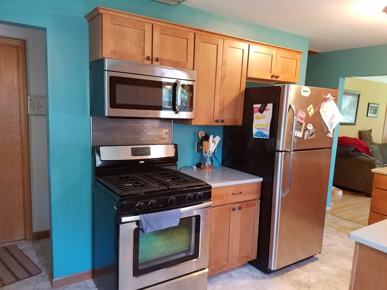 Kitchen featuring stainless appliances