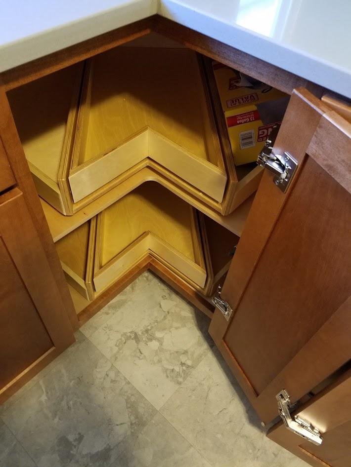 Korner King custom kitchen storage