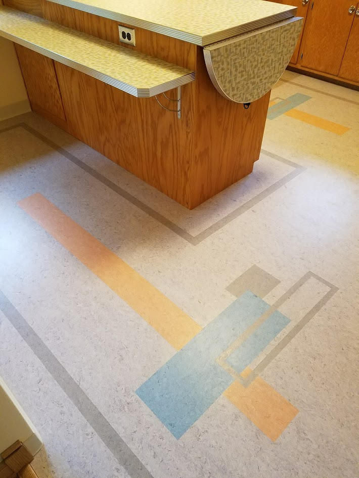 custom linoleum floor