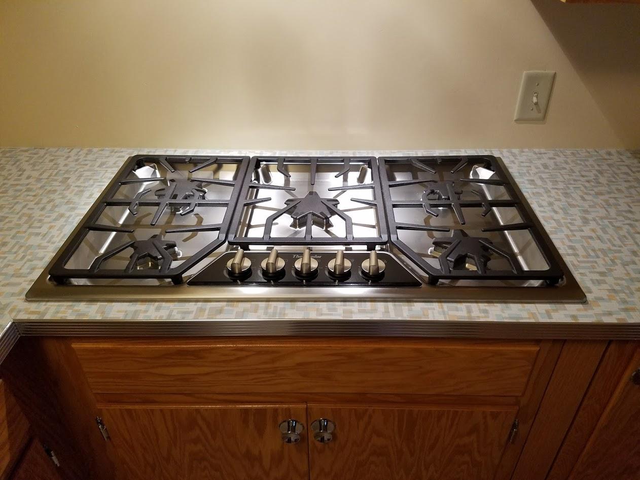 gas cooktop