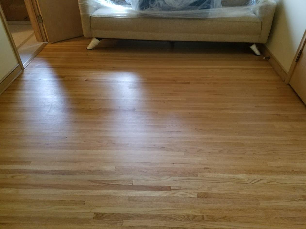 oak refinished hardwood floors