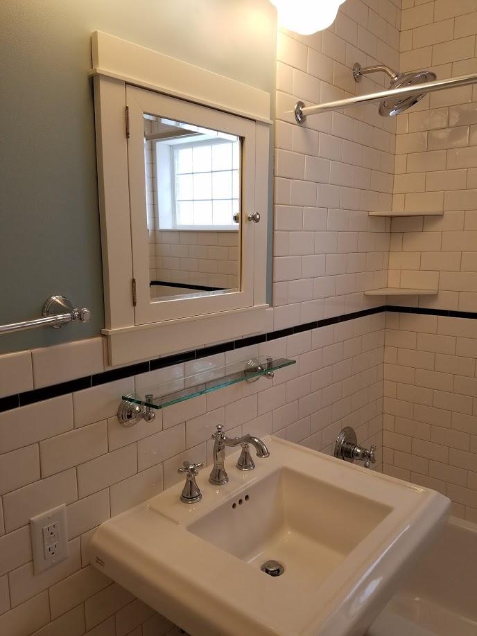 classic bath details